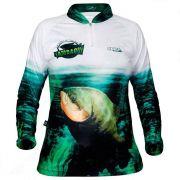 Camiseta de Pesca Jogá Feminina Tambaqui Proteção UV