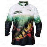 Camiseta de Pesca Jogá Tucunaré Açu Proteção UV