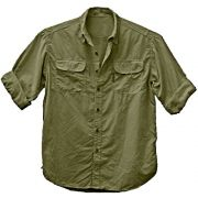 Camisa de Pesca Masculina Ballyhoo Crisis Cor Militar Com Filtro UV