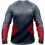 Camiseta de Pesca Monster 3X Datena 01 com Proteção Solar UV +20