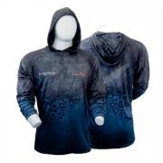 Camisa de Pesca Monster 3x Hoodie M-Action FPS 20