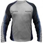 Camiseta de Pesca Monster 3X M-Action 02 com Proteção Solar UV 30+