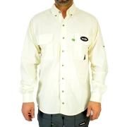 Camisa de Pesca MTK Sky com Proteção Solar e Manga Longa Cor Gelo