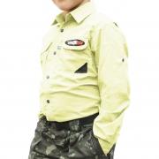 Camisa de Pesca MTK Sky Kids com Proteção Solar e Manga Longa Cor Gelo
