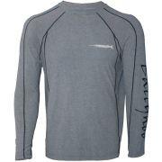 Camisa Masculina De Pesca Ballyhoo Winter Mescla com Proteção UV-A e UV-B