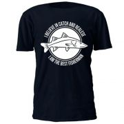 Camiseta Casual BRK Catch and Realese Azul Marinho