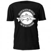 Camiseta Casual BRK Catch and Realese Preta