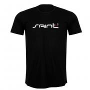Camiseta Casual Saint Plus Cor Preta