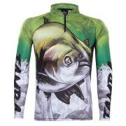 Camiseta de Pesca Atack 05 King com Proteção Solar