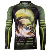Camiseta de Pesca Infantil Viking Collection 19 King com Proteção Solar