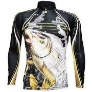 Camiseta de Pesca KFF305 King com Proteção Solar