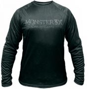 Camiseta de Pesca Monster 3x Datena 04 com Proteção Solar UV +20