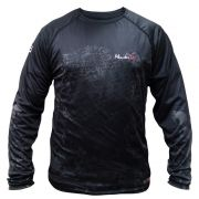 Camiseta de Pesca Monster 3x Datena Black com FPS 30