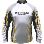 Camiseta de Pesca Monster 3X New Fish 01 com Proteção Solar UV