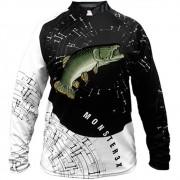 Camiseta de Pesca Monster 3X New Fish 05 Traíra com Proteção Solar UV