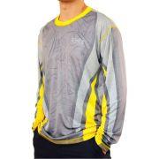 Camiseta de Pesca MTK Attack com Proteção Solar Filtro UV Cor Robalo I
