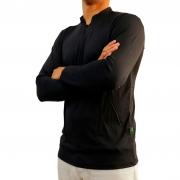 Camiseta Mtk Clean com Proteção Solar Filtro UV Cor Preto