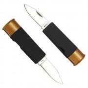 Canivete Ntk Tático Shot Com Designe de Calibre
