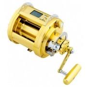 Carretilha de Pesca Elétrica 12V Marine Power MP3000 Manivela Direita Recolhimento 1.7:1
