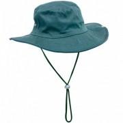 Chapéu de Pesca Safari Jogá com Cinta Fixadora de Pescoço Cor Verde
