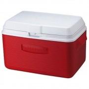 Cooler Rubbermaid 32 Litros com Alça de Transporte Embutida cor Vermelho