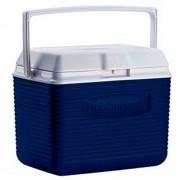 Cooler Rubbermaid 9,7 Litros com Alça de Transporte cor Azul