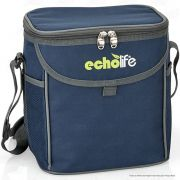 Bolsa Térmica com Alça de Ombro e Bolsos Echolife Blue 9 litros