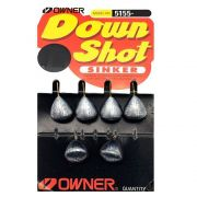 Down Shot Shinker Owner Nº3/16oz 5,31g 6un