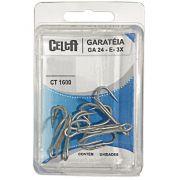 Garatéia GA-24 3x Celta CT1600 Nº4/0 Cartela com 4un
