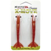 Isca Artificial Camarão Monster 3X X-Move Premium 12 cm