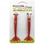 Isca Artificial Camarão Monster 3X X-Move Premium 12 cm