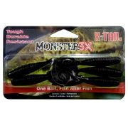 Isca Artificial Grub X-Tail Monster 3x 8cm