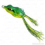 Isca Crazy Frog Yara Lures Sapinho de Borracha Cor 22 Verde Tamanho 4,5cm 9g