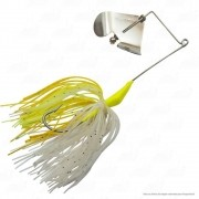 Isca Moro Deconto Spinner Buzz Bait 2/0 13g Cor 347 Amarelo com Branco
