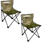 Kit Cadeira Dobrável para Pescaria ou Acampamento XD-01 Marine Sports 2un