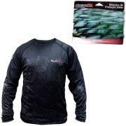 Kit Camisa de Pesca com Proteção Solar + Mascara de Proteção Solar Monster 3x