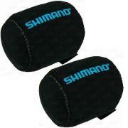 Kit Capa Protetora de Carretilha Shimano Case (Baitcast - Perfil Baixo) Direita e Esquerda BC-ANRC820A 2un