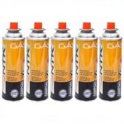 Kit de Gás Campgás Nautika Refil para Fogareiros Peso Líquido 227g 5un