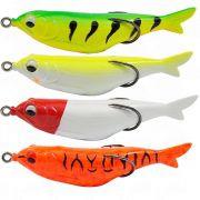 Kit de Iscas Artificiais Snake Fish Yara Lures 9cm 12g 4un