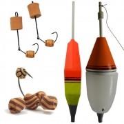 Kit de Iscas e Bóias para Pesqueiros e Pesque-Pague Ideal Tambaqui