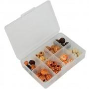 Kit de Miçangas EVA Gold para Pesqueiros Celta CT1044