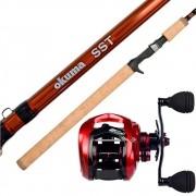 Kit de Pesca para Peixe Redondos Vara + Carretilha