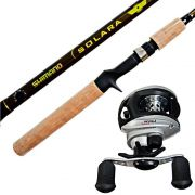 Kit de Pesca Vara Shimano + Carretilha Saint Plus
