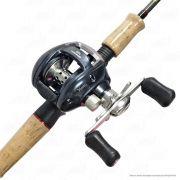 Kit de Pesca Yume Tempest Carretilha 100/101 10 rolamentos Direita ou Esquerda Vara TPC562M 56 1,68m 8-20lb
