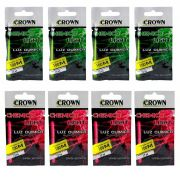 Kit Luz Química Crown para Pesca Noturna Cor Verde e Pink 8un