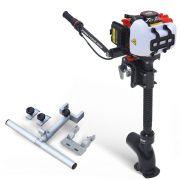 Kit Pantaneiro Jet Turbo Central+ Acelerador remoto + Suporte Central Leader e Hook