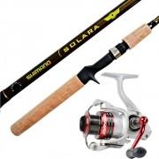 Kit Vara Shimano + Molinete Marine Sports para Pesqueiros