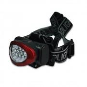 Lanterna de Cabeça Basic Três Estágios de Led Alcance de 10m LA0001 Echolife
