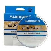 Linha de Pesca Shimano Exage Monofilamento Extra Forte 150m 0,305mm 7,5kg