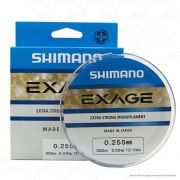 Linha de Pesca Shimano Exage Monofilamento Extra Forte 300m 0,255mm 5,5kg